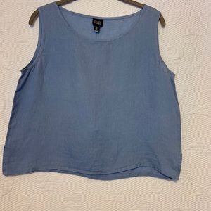 Eileen Fisher linen tank size medium